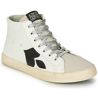 Schoenen Dames Hoge sneakers Le Temps des Cerises AUSTIN Wit
