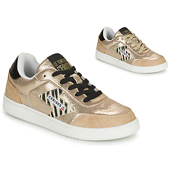 Schoenen Dames Lage sneakers Le Temps des Cerises FLASH Goud