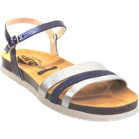 Schoenen Dames Sandalen / Open schoenen Plakton Green Marineblauw / grijs