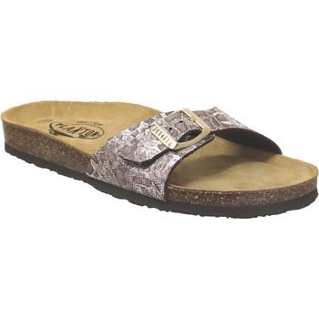Schoenen Dames slippers Plakton Bom Lichtbruin