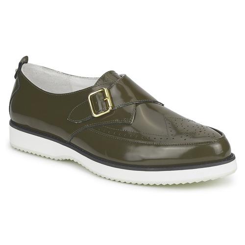 Schoenen Dames Mocassins McQ Alexander McQueen 308658 Groen