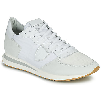 Schoenen Heren Lage sneakers Philippe Model TRPX LOW BASIC Wit