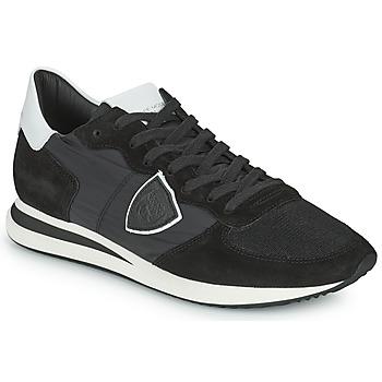 Schoenen Heren Lage sneakers Philippe Model TRPX LOW BASIC Zwart