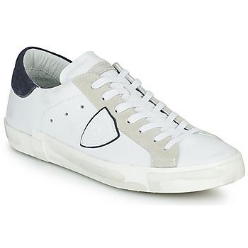 Schoenen Heren Lage sneakers Philippe Model PRSX LOW MAN Wit