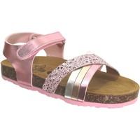 Schoenen Meisjes Sandalen / Open schoenen Plakton Lara Metallic roze