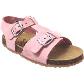 Schoenen Meisjes Sandalen / Open schoenen Plakton Ponette Nubuck roze