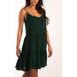 Textiel Dames Korte jurken Beachlife Zomerjurkje met dunne bandjes Beachwear Donkergroen