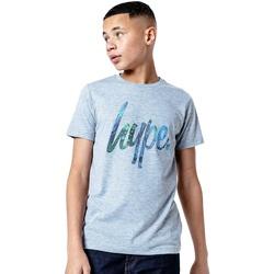 Textiel Kinderen T-shirts korte mouwen Hype  Grijs