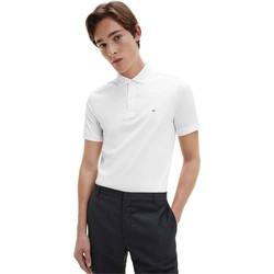 Textiel Heren Polo's korte mouwen Calvin Klein Jeans K10K107090 Wit