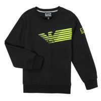 Textiel Jongens Sweaters / Sweatshirts Emporio Armani EA7 SOLIR Zwart