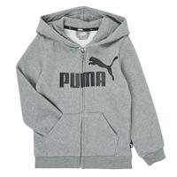 Textiel Jongens Sweaters / Sweatshirts Puma ESSENTIAL BIG LOGO FZ HOODIE Grijs