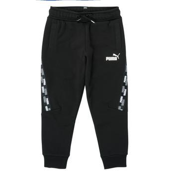 Textiel Jongens Trainingsbroeken Puma PUMA POWER TAPE PANT Zwart