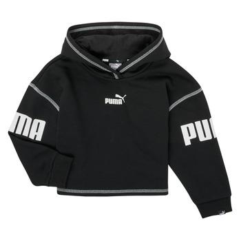 Textiel Meisjes Sweaters / Sweatshirts Puma PUMA POWER HOODIE Zwart