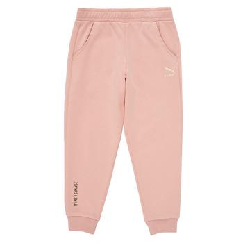Textiel Meisjes Trainingsbroeken Puma T4C SWEATPANT Roze