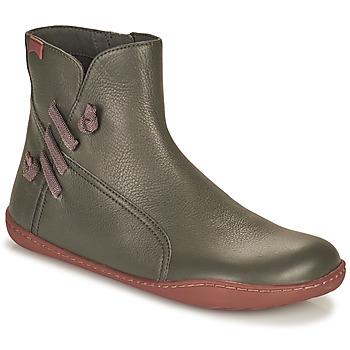 Schoenen Dames Laarzen Camper PEU CAMI Grijs