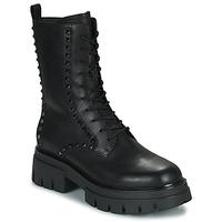 Schoenen Dames Laarzen Ash LIAM Zwart