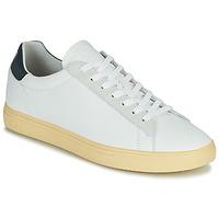 Schoenen Heren Lage sneakers Clae BRADLEY CALIFORNIA Wit / Blauw