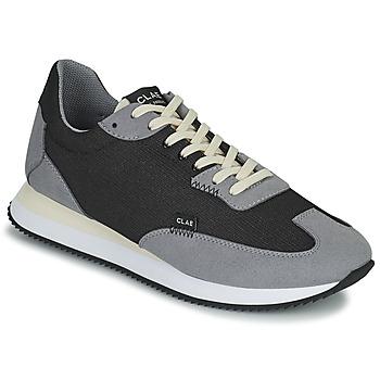 Schoenen Heren Lage sneakers Clae RUNYON Zwart / Grijs