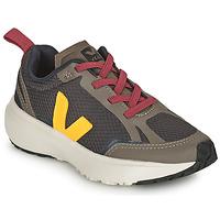 Schoenen Kinderen Lage sneakers Veja SMALL CANARY Groen / Geel