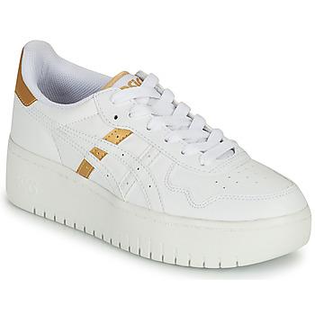 Schoenen Dames Lage sneakers Asics JAPAN PLATFORM Wit / Goud