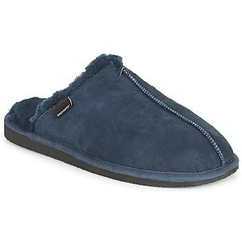 Schoenen Heren Sloffen Shepherd HUGO Blauw