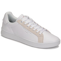 Schoenen Heren Lage sneakers Tommy Hilfiger CUPSOLE COURT LEATHER Wit