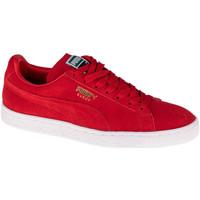 Schoenen Lage sneakers Puma Suede Classic Rouge