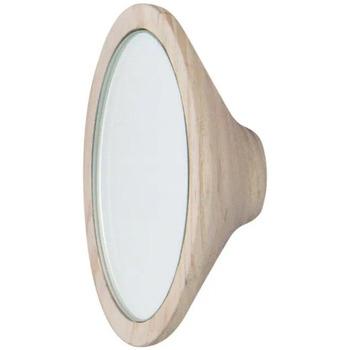 Wonen Spiegels Furniteam Wandhanger met Spiegel, Klein Naturel