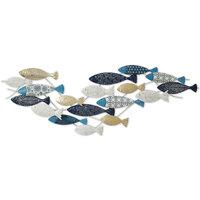 Wonen Feestelijke decoraties Signes Grimalt Fish Motif Muur Azul