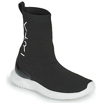 Schoenen Meisjes Hoge sneakers Karl Lagerfeld HEROS Zwart