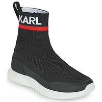 Schoenen Jongens Hoge sneakers Karl Lagerfeld PELINDRA Zwart