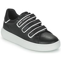 Schoenen Kinderen Lage sneakers Karl Lagerfeld GOLINDA Zwart