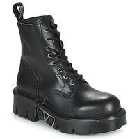 Schoenen Laarzen New Rock M-MILI084N-S3 Zwart