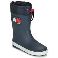 Schoenen Kinderen Regenlaarzen Tommy Hilfiger T3X6-30766-0047800 Marine