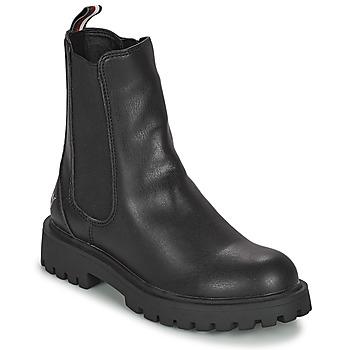Schoenen Meisjes Laarzen Tommy Hilfiger T3A5-31198-0289999 Zwart