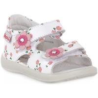 Schoenen Jongens Sandalen / Open schoenen Naturino FALCOTTO 0N01 BESENVAL WHITE Bianco