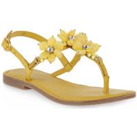 Schoenen Dames Sandalen / Open schoenen Café Noir CAFE NOIR Z001 INFRADITO Giallo