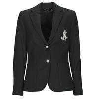 Textiel Dames Jasjes / Blazers Lauren Ralph Lauren ANFISA-LINED-JACKET Zwart