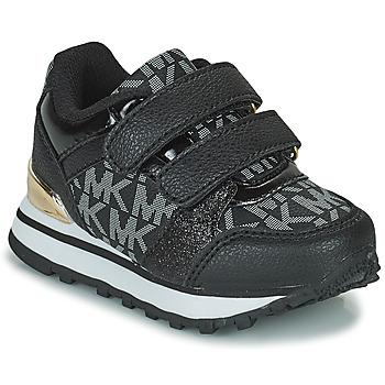 Schoenen Meisjes Lage sneakers MICHAEL Michael Kors BILLIE JOGGER H&L Zwart / Goud