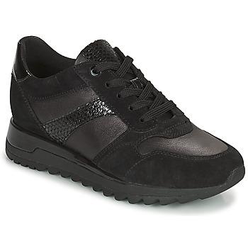 Schoenen Dames Lage sneakers Geox TABELYA Zwart