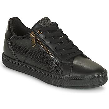Schoenen Dames Lage sneakers Geox BLOMIEE Zwart