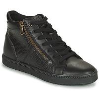 Schoenen Dames Hoge sneakers Geox BLOMIEE Zwart