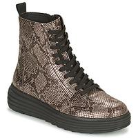 Schoenen Dames Laarzen Geox PHAOLAE Bruin
