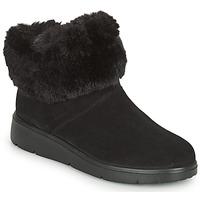 Schoenen Dames Laarzen Geox ARLARA Zwart