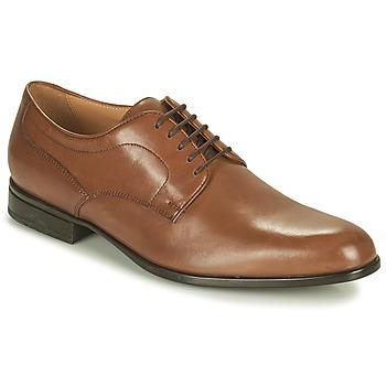 Schoenen Heren Derby Geox IACOPO Bruin