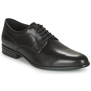 Schoenen Heren Derby Geox IACOPO Zwart