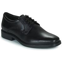 Schoenen Heren Derby Geox BRANDOLF Zwart