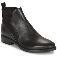 Schoenen Dames Laarzen Geox DONNA BROGUE Zwart