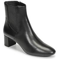 Schoenen Dames Enkellaarzen Geox PHEBY 50 Zwart