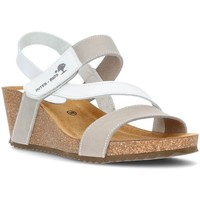 Schoenen Dames Sandalen / Open schoenen Interbios Sandalen Comfortabele wig 2019 WIT
